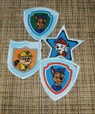 Dogs Patch Iron-On Paw Patrol Embroidered Applique Patches For KIDS