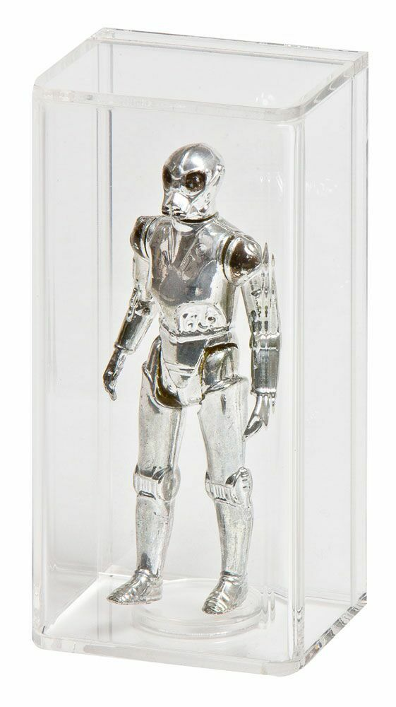 5 x GW Acrylic Display Cases - LOOSE Star Wars & GI Joe Figures (AFC-002)