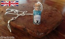 Zombie Antidote Bottle Necklace The Walking Dead Inspired Charm Novelty Gift