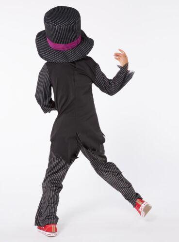 Halloween Boys Terrifying Tuxedo Skeleton Fancy Dress NEW H17