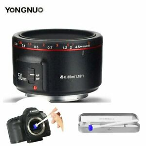 2018-New-Version-Yongnuo-YN-50mm-F-1-8-II-AF-MF-Prime-Fixed-Lens-for-Canon