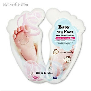 HOLIKA-HOLIKA-Baby-Silky-Foot-One-Shot-Peeling-Korea-Cosmetics