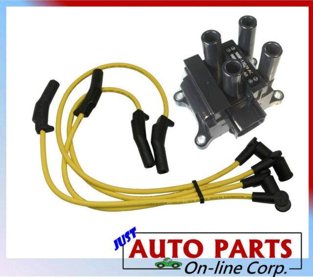 IGNITION WIRES + IGNITION COIL FORD FOCUS L4 2.0L 00 01 02 03 04 VIN P SOHC ONLY
