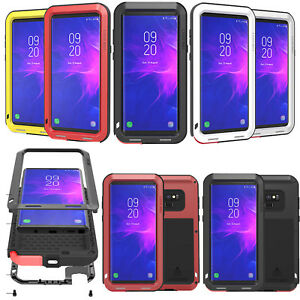 size 40 63aab 335fd Details about LOVEMEI Gorilla Glass Waterproof Aluminum Metal Case Cover  For Samsung Note 9