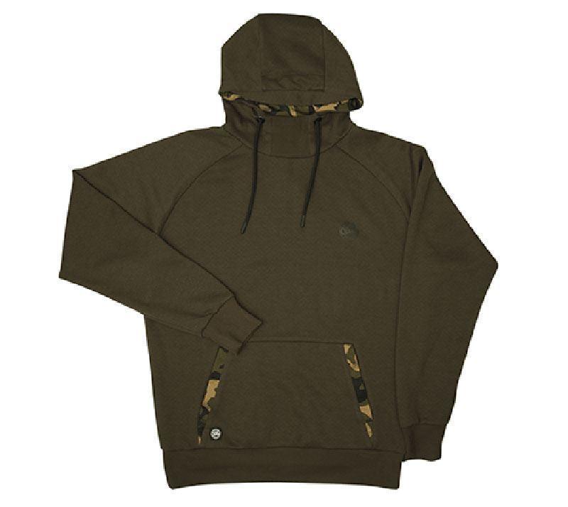 Fox Chunk Dark Khaki Camo Hoodie   Carp Fishing Clothing