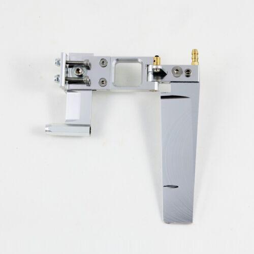 """110mm Rudder w// Adjustable Strut Silver for 4.76mm 3//16/"""" Propeller Shaft RC Boat"""