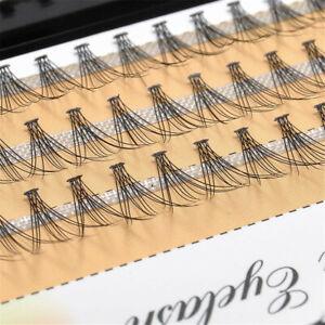 60pcs Trendy Makeup Individual Cluster Eye Lashes Grafting Fake False Eyelashes