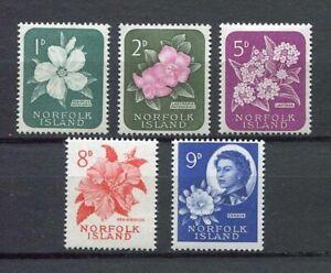 28194) DEALER STOCK NORFOLK ISLAND 1966 MNH** Def. 5v Not complete (X10 SETS)