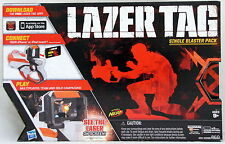 Lazer Tag Single Blaster Nerf White & Orange Works With iPhone & Ipod Touch NIB