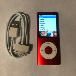 Apple iPod Nano 4th Generation All GB 8GB /& Higher Used All Colors Tested