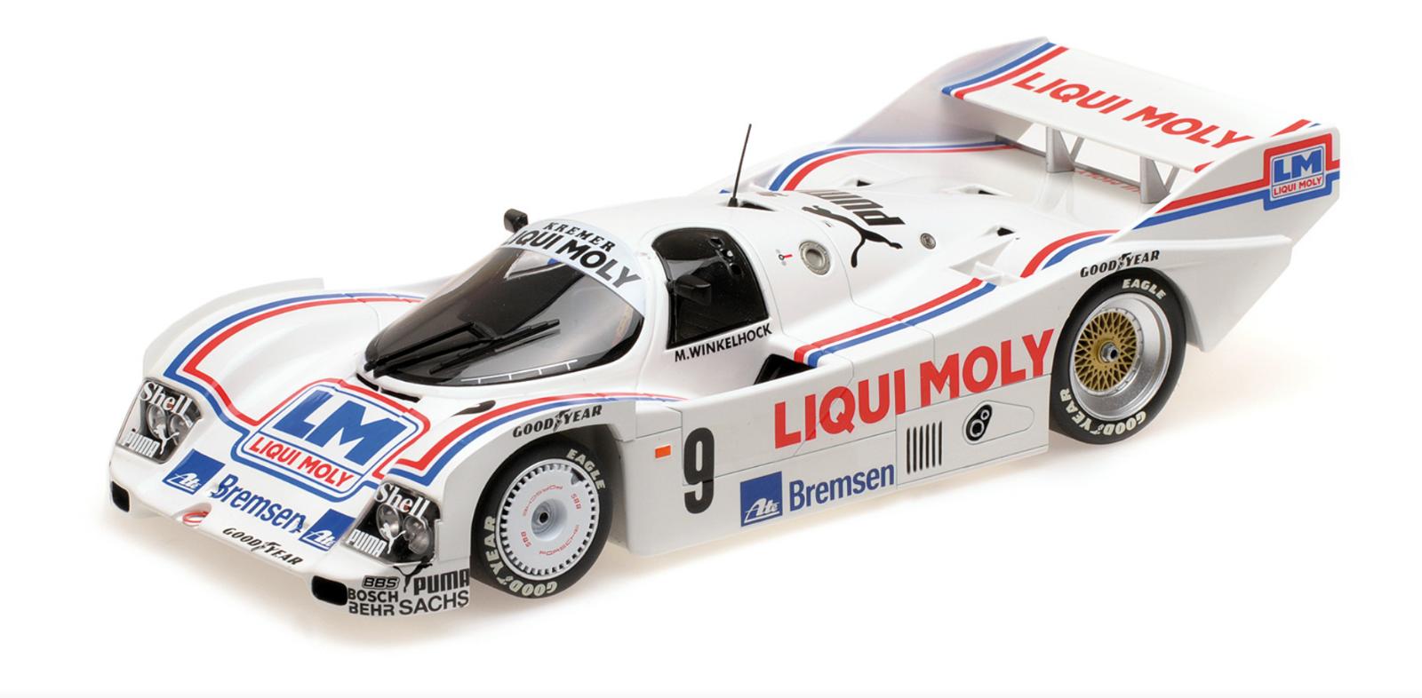 1 18 Porsche 962C Winkelhock Nurnberg 1985 1 18 • MINICHAMPS 155856509