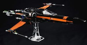 Star-Wars-Lego-75102-amp-75149-X-Wing-Starfighters-custom-display-stand-only