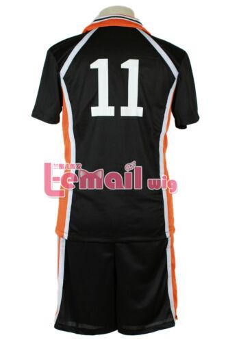 Haikyuu Tsukishima Kei Volleyball Sports Jersey No.11 Uniform Cosplay Costume