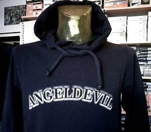 Devil Angel Tasche Con Chiusa Stampato Felpa Logo Cappuccio Uomo E aqpx65wB