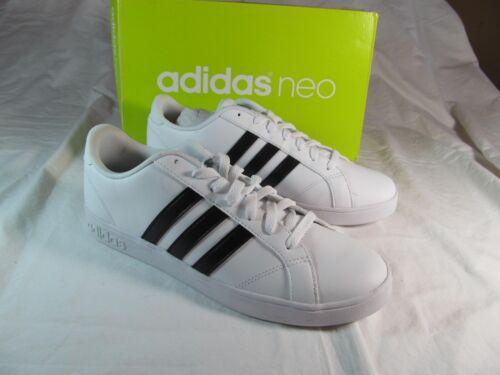 Nwt negro atletismo 10 cuero o tama Neo Adidas para de M blanco Cloudfoam x6w4OW6