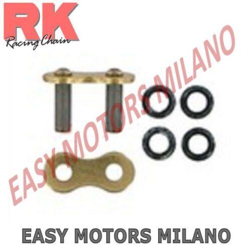 K520GXWCLF00 RK Falsa Maglia Giunto X Catena Trasmissione Moto 520GXW CLF