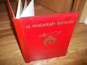 1888 - 1977 A Pictorial History Al Malaikah Temple by Sidney Senter book