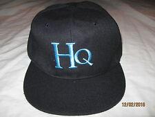 Hpnotiq HQ Snapback Hat Cap Mens Adult One Size Vodka Dark Blue