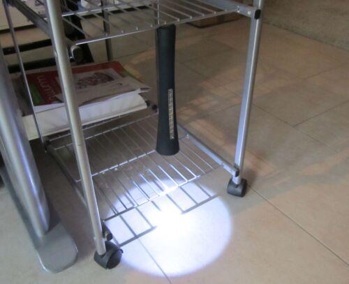 LED lampe torche//Lampe de travail avec magnétique 11 LED /'s 2er set top qualité 50009-2