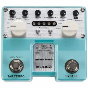 2019-Mooer-Reverie-Reverb-Pro-Twin-Effects-Pedal-1-2-PRICE-SALE-BRAND-NEW