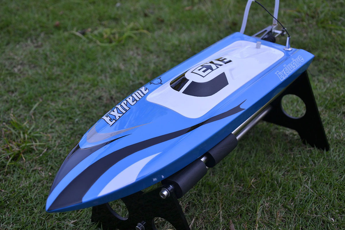 DT RC Electric Boat PNP M455 Millet W/Fiber Glass Motor Servo ESC Racing