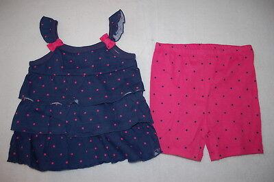 NWT Baby Gap Girls 12 18 Months or 3t Disney Frozen Elsa Anna Tank Top /& Shorts