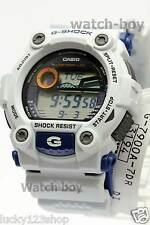 G-7900A-7D White Casio Men's Watch G-Shock Mineral Glass Digital 200m Resin Band