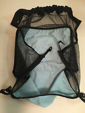 Replacement Black & Teal Basket for Combi Twin Sport Side by Side Stroller VGUC