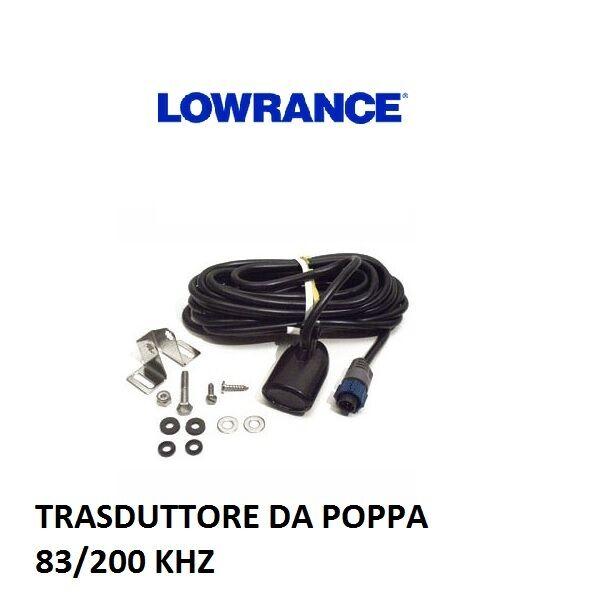 LOWRANCE TRASDUTTORE POPPA 83 200KHZ  PER SERIE HDS GEN 2 TOUCH E HDS GEN3