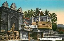 Postcard Temple of Buddha's Tooth Kingdom of Kandy Sri Dalada Maligawa Sri Lanka