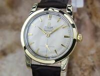 Omega Seamaster 1960 Swiss Made Bumper Auto Men Vintage Gold Capped Watch MX104