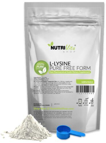 100/% L-LYSINE HCL POWDER USP GRADE nonGMO 2X 500g 1000g 2.2 lb