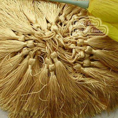 Gold 12cm Tassel Craft Sewing Curtains Trimming Embellishment T8