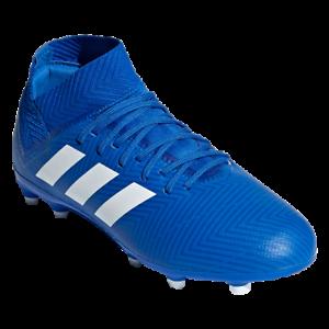 Details about adidas Nemeziz 18.3 FG Junior Kids Soccer Cleats Blue