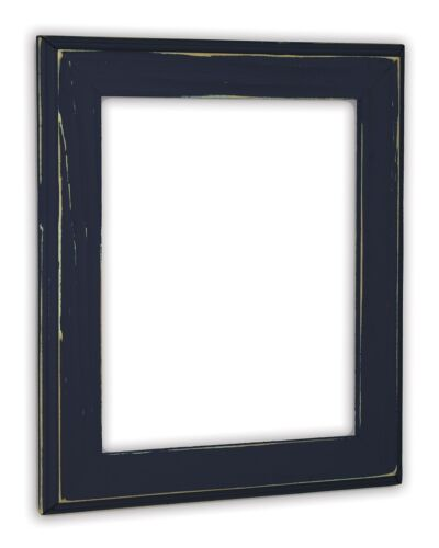 Allison Midnight Blue Picture Frame Solid Wood