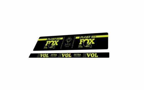 FOX DPS Float EVOL Performance 2018 Rear Shock Sticker Factory Decal Lime Green