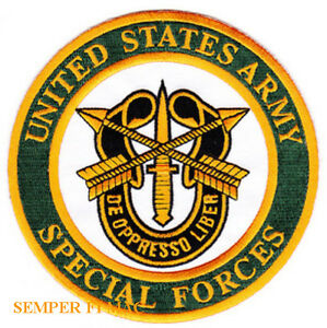 SPECIAL-FORCES-PATCH-US-ARMY-GREEN-BERETS-VETERAN-FORT-BRAGG-PIN-UP-RECON