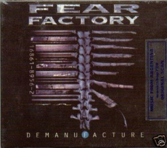 FEAR FACTORY DEMANUFACTURE + REMANUFACTURE 2 CD SET