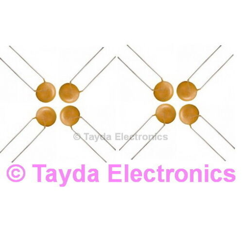 30 x 820pF 50V Ceramic Disc Capacitor FREE SHIPPING