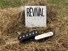 THE REVIVAL PICKUPS RPT 3 SET ALNICO II/III f. TELE® 7.5+8.5k -THE TRUE TONE