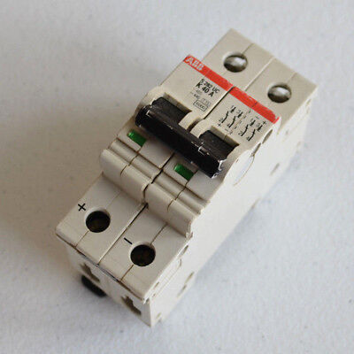 ABB S 282 UC K 40A 2 Pole Miniature Circuit Breaker