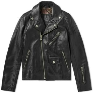 New-Belstaff-X-SOPHNET-Harden-Black-Leather-Biker-Jacket