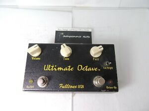 GéNéReuse Fulltone Ultimate Octave Fuzz Pédale D'effets Free Usa Livraison-afficher Le Titre D'origine