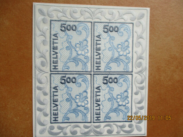 Schweiz - Stickerei Kleinbogen Nr. 1726 postfrisch - ansehen!!!