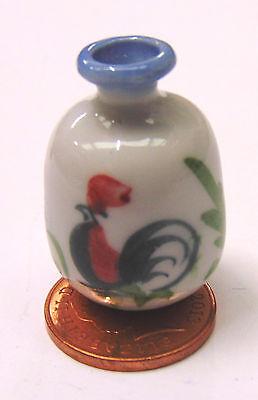 Amabile 1:12 Scala 3cm Ceramica Galletto Vaso Tumdee Casa Bambole Ornamento Fiore C10b