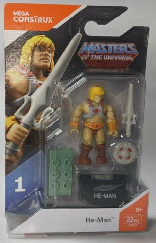 He-Man figure Masters of The Universe Mega Construx MOTU 2017 Mattel