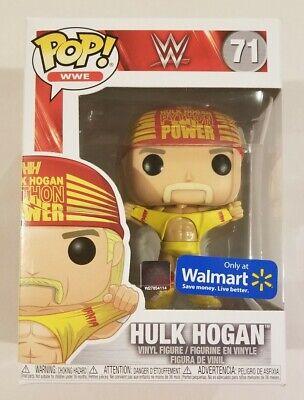 WWE Funko Pop Hulk Hogan Python Power 71 Walmart Exclusive
