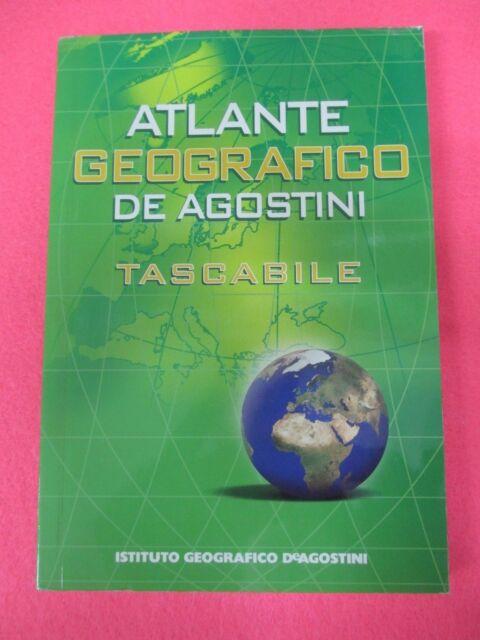 book libro ATLANTE GEOGRAFICO DEAGOSTINI Tascabile 2007  (L92)