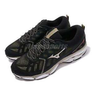 Mizuno-Wave-Ultima-11-Black-Gold-White-Men-Running-Shoes-Sneakers-J1GC1966-01