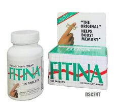 FITINA Dietary Supplement 100 Tablets Helps Boost Memory Support